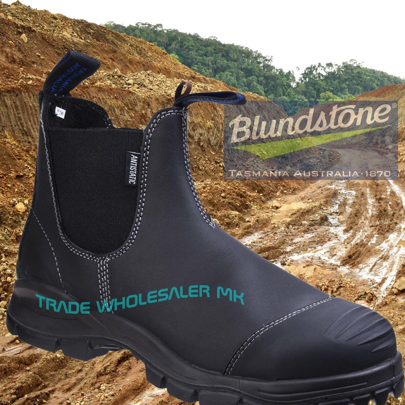Distribuidor De Seguridad azulNDSTONE 910 S3 Negro Bota Con Suela Platino Range