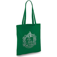 Harry Potter inspired Slytherin bottle green Tote bag