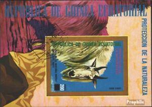 Guinée Equatoriale Bloc 272 Oblitéré 1977 Amérique Du Nord Animaux Le Plus Grand Confort