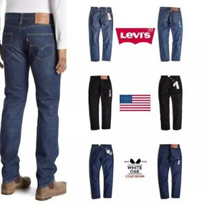 NEW-MENS-LEVIS-511-SLIM-FIT-MADE-IN-USA-PREMIUM-WHITE-OAK-CONE-DENIM-JEANS-PANTS