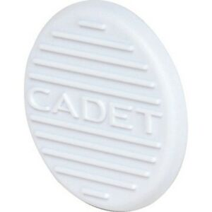 Details about Cadet Wall Heater White Thermostat Hole Plug