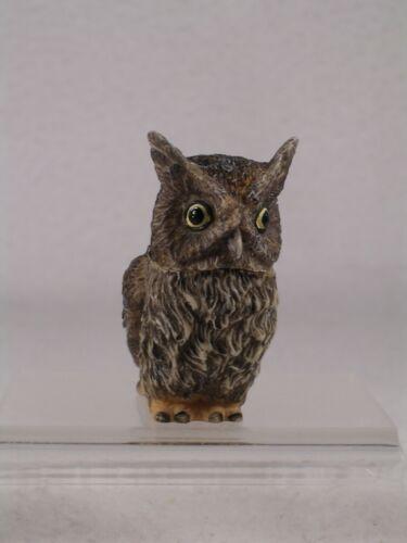 Harmony Kingdom Pot Bellys Belly /'Screech/' Owl #PBZOW12 New In Box