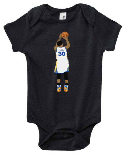 """BLACK Steph Curry Golden State Warriors /""""Curry Pic/"""" jersey T-shirt Shirt"""