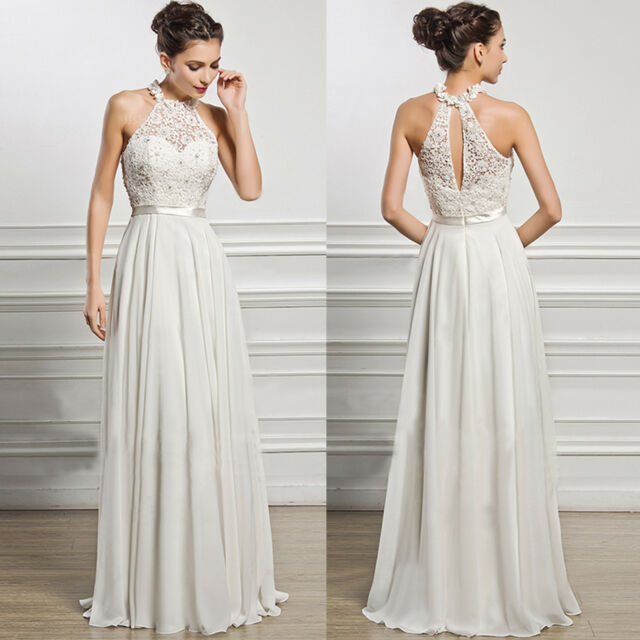 Women Sleeveless Long Dress Formal Party Wedding Bridesmaid Evening Maxi Dress