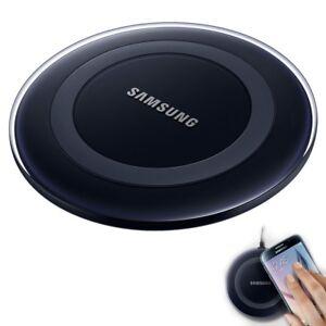 samsung kabellose qi induktive ladestation dock wireless charger ep pg920i black ebay. Black Bedroom Furniture Sets. Home Design Ideas