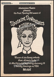 UPSTAIRS-DOWNSTAIRS-Orig-1977-Trade-AD-poster-TV-promo-CHERMAYEFF-amp-GEISMAR