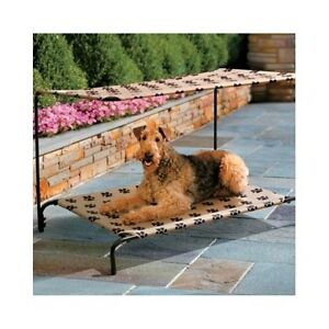 ... DOG-BED-CANOPY-Elevated-Pet-Cot-Sun-Shade-  sc 1 st  eBay : outdoor elevated dog bed with canopy - memphite.com
