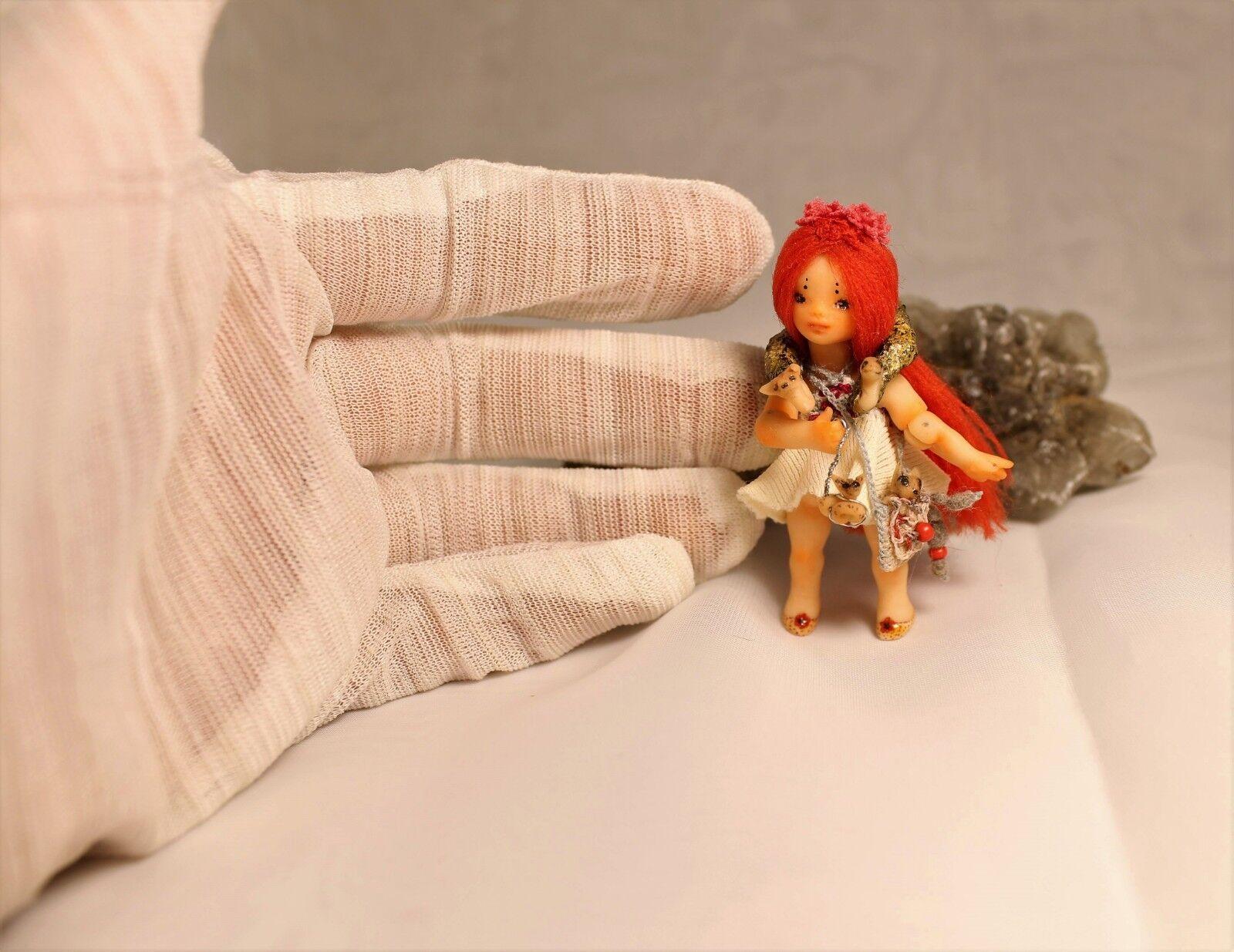 Miniatura 1 24 poco foxberry uno de una tipo BJD Arte Muñeca por Julia Arts
