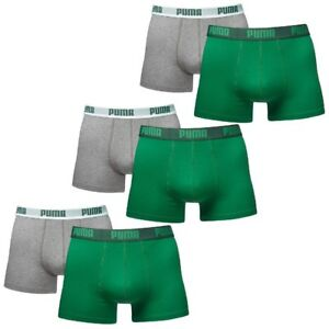 Underpants Green M da Puma He uomo Amazon Pack Shorts Boxer 6 Size pYzB8B