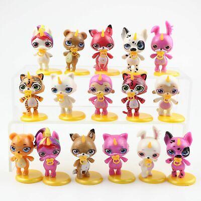 8Pcs//Set Poopsie Slime Surprise Unicorn Action Figures Kids Toys Birthday Gift