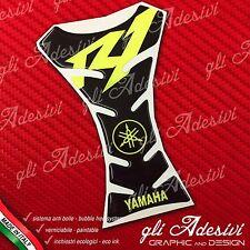 Paraserbatoio Resinato Sticker 3D Yama Diapason R1 Black & Yellow