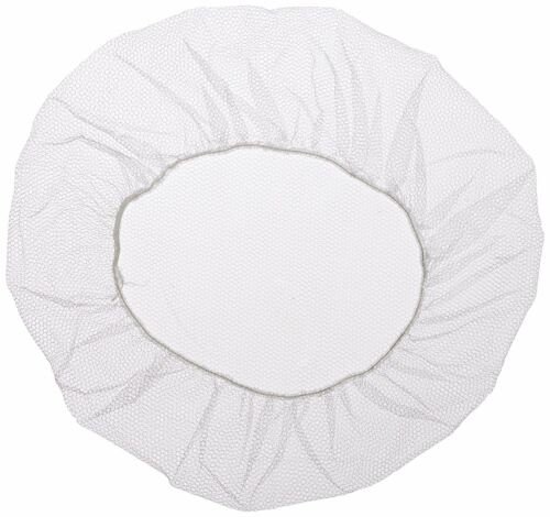 "Shield Safety White Restaurant Cooking Snoods Nylon Hair Net Cap 21/"" 300 Pieces"