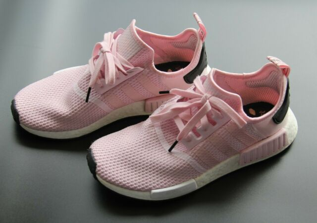 Adidas Originals W Womens Nmd R1 Boost White Rose Pink By9952 Je