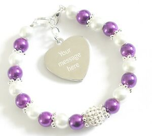 Image Is Loading Engraved Personalised Pancreatic Cancer Awareness Bracelet Charity Fundraising