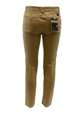 Pantalone Da Slim Uomo Beige Moda Tasche Billabong Casual Lungo Cotone 774qr1yS