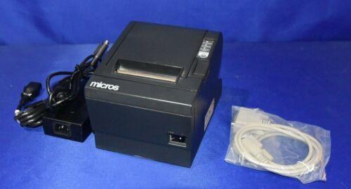 MICROS//EPSON TM-T88iii THERMAL PRINTER MICROS SERIAL  INTERFACE W// WARRANTY