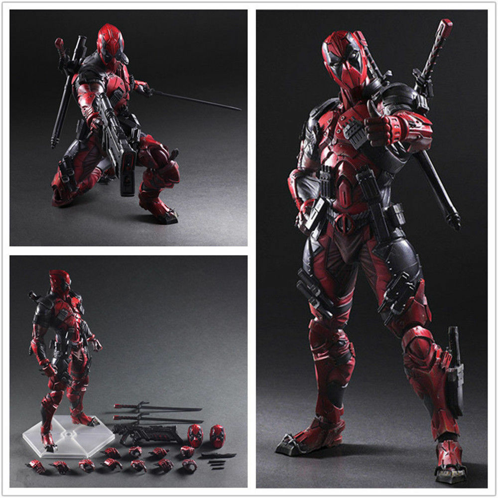 Marvel Deadpool SquareEnix VARIANT Play Arts Kai Figure Toy New in Box For Gift