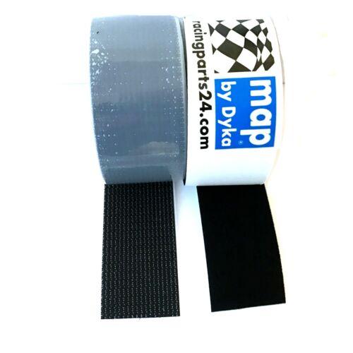 0,4 m Support de plaque d/'immatriculation Velcro Velcro Plaque Support RAHMENLOS