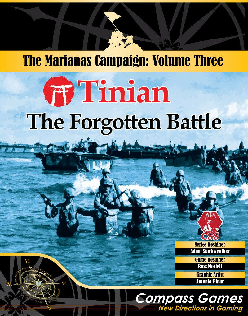 Compass Games Tinian  The Forgotten Battle Volume 3 Marianas Campaign NISW
