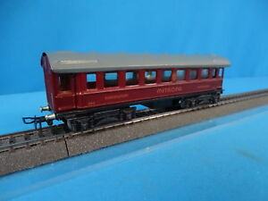 Marklin-343-Sleeping-Car-Schlafwagen-MITROPA-RED-vers-7-of-1947-OVP