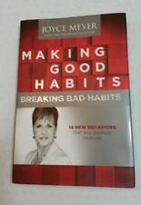 MAKING GOOD HABITS BY JOYCE MEYER HARDCOVER HARDBACK BOOK