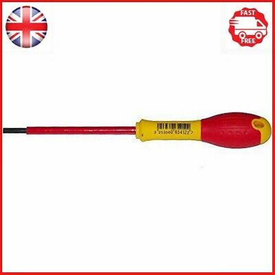 Stanley Fat Max Screwdriver Insulated Slotted 4X100Mm-Red And Yellow