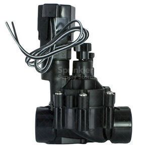 Rain bird 100dvf 1 remote control electric valve with for Motorized flow control valve