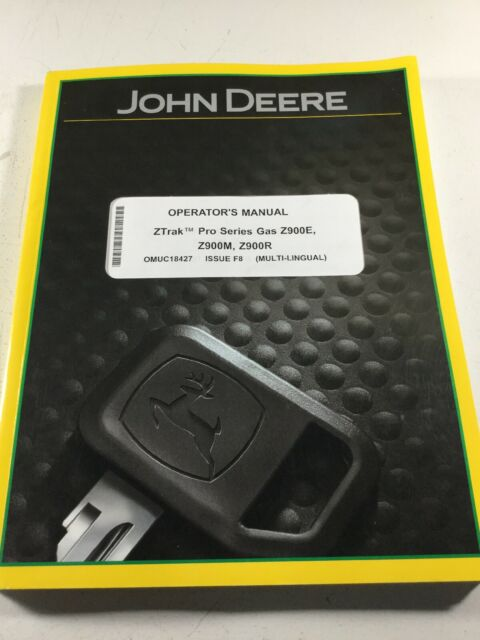 John Deere Z920m 925m Z930m Z920r Z930r Z950r Z960r Manual Guide
