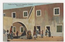 Africa, Mocambique, Trecho da Praca de S. Sebastiao Postcard, B217