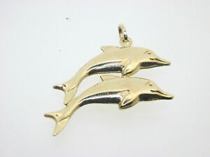 Charming-double-dolphin-9ct-Yellow-Gold-Dolphin-Charm-1-2g