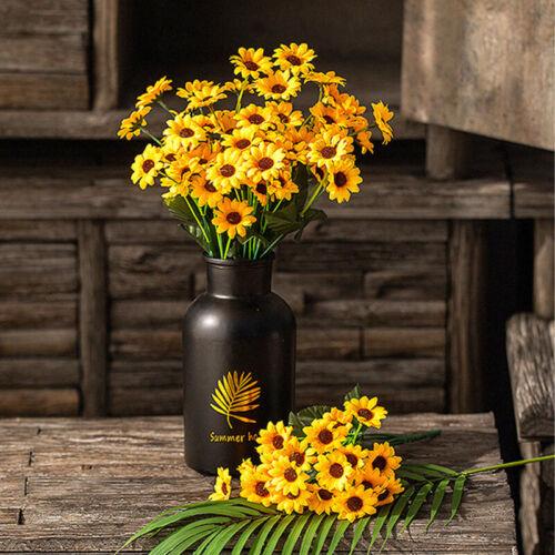 Lifelike 13 Heads Artificial Sunflower Silk Flower Bouquet Home Party Decoration