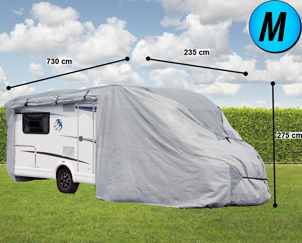 Camper couverture polaire tissu tissu polaire garage caravane bâche couverture tailles S-L 15a5f2