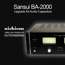 Sansui BA-2000 Upgrade Kit Audio Capacitors