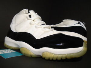 66b2561827d3a8 2000 NIKE AIR JORDAN XI 11 RETRO WHITE BLACK CONCORD SPACE JAM OG ...