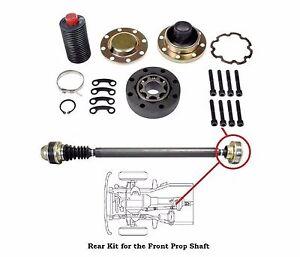 Details about Jeep Wrangler 4x4 Driveshaft Propeller Shaft Rear CV Joint  Repair Kit Free Shipp