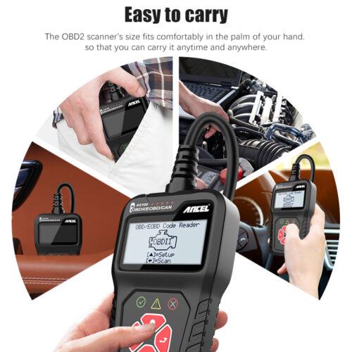 ANCEL AS100 Car OBD2 Scanner Code Reader Check Engine Fault Diagnostic Tool