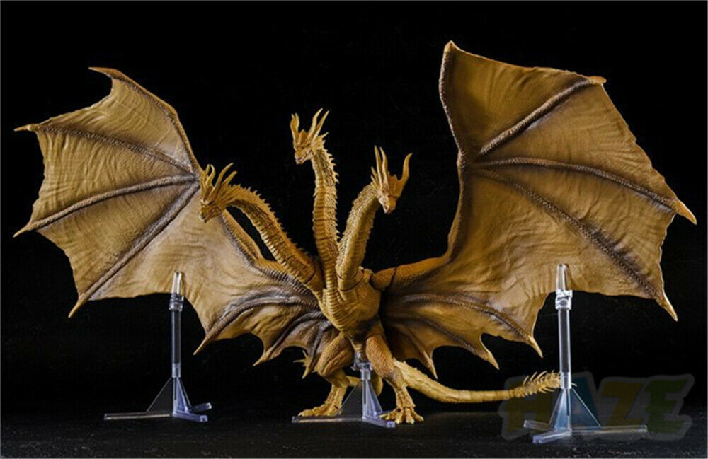 And Godzilla  rey de los monstruos 2 King Ghidorah Figura Estatua En Stock