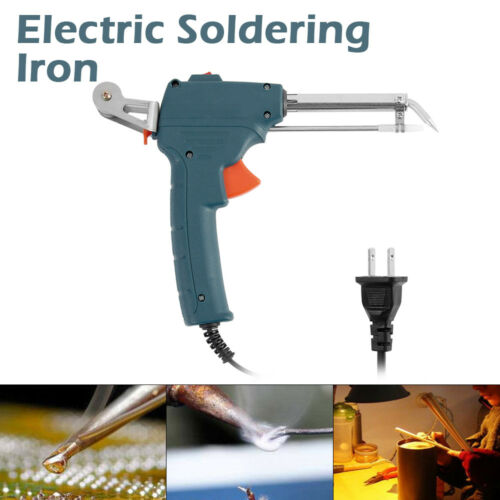 NEW Auto Electric Soldering Iron Gun Adjustable Temperature Welding Tool 60W