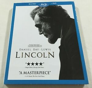 Lincoln-2012-Slipcover-Blu-Ray-DVD-Region-Free-1-Like-New