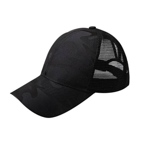 Unisex Men Women Summer Breathable Camouflage Mesh Baseball Caps Hats Sports