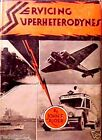Servicing Superheterodynes Tube type Radios by John F. Rider Book on CD w/BONAS
