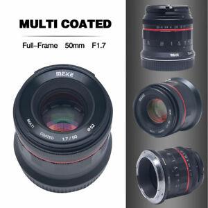 Meike-50mm-F-1-7-Lens-for-Canon-full-frame-micro-single-EOS-R-RF-bayonet-camera