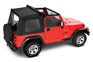 Pavement Ends Flip Top Clear Windows No Doors 97 06 Jeep Wrangler Tj