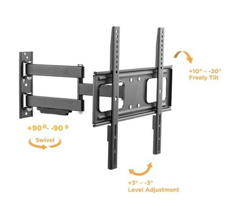 Outdoor Anti-Theft Full Motion Weatherproof TV Wall Mount for Most 32-70 HDTV