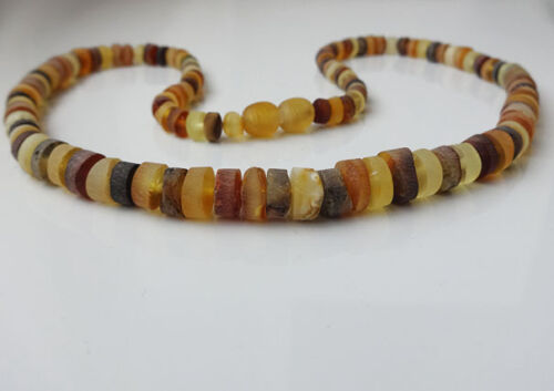 Raw Men/'s Natural Baltic Amber Collier