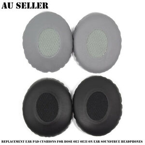 Details About Replacement Ear Pad Cushions For Bose Oe2 Oe2i On Ear Soundtrue Headphones