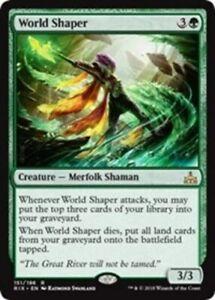 World-Shaper-x4-PL-Magic-the-Gathering-4x-Rivals-of-Ixalan-mtg-card-lot