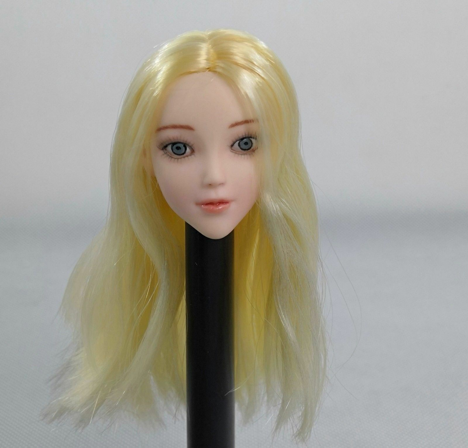 1 6 Scale Female Blond Head Sculpt For PHicen Tbleagure Pale Action figure body