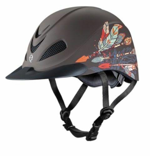 Troxel Rebel Arrow Western Riding Helmet-Med
