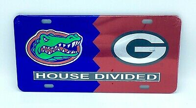 Tennessee Georgia House Divided Laser Cut License Plate